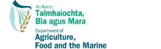 Department of Agriculture, Food, and the Marine logo